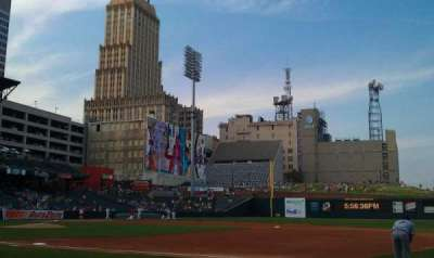Autozone Park, section: 113, row: b, seat: 3