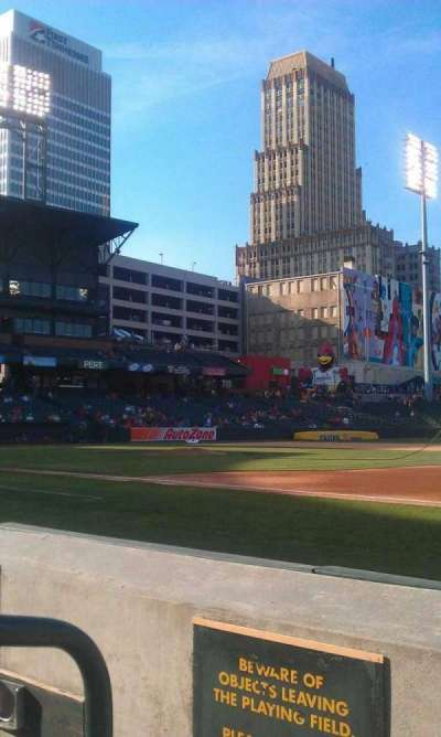 Autozone Park, section: 113, row: B, seat: 1