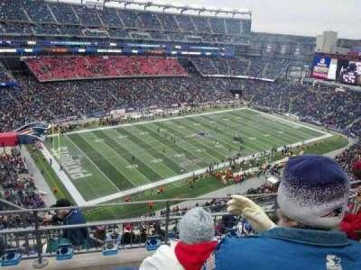 Gillette Stadium section 337