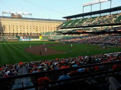Oriole Park at Camden Yards section 59