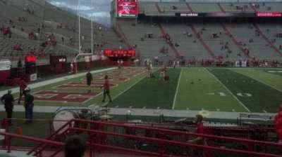 Memorial Stadium section 10