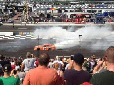 Pocono Raceway, section: SJ, row: 25, seat: 1