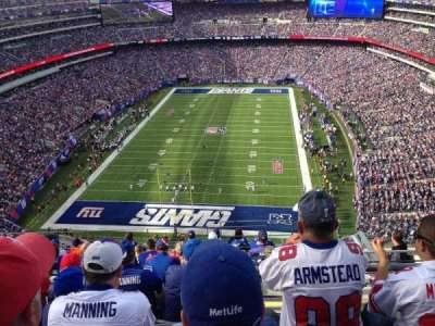 MetLife Stadium  section 325