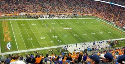 Invesco Field at Mile High, section: 539, row: 23, seat: 1