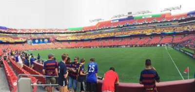 FedEx Field, section: 117, row: 4, seat: 17
