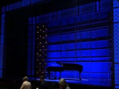 Stephen Sondheim Theatre, section: Orchestra, row: O