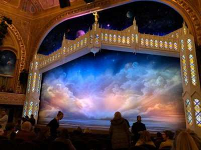 Eugene O'Neill Theatre, section: Orchestra, row: M