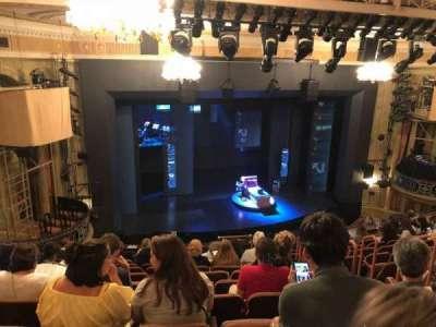 Music Box Theatre, section: Mezz, row: L, seat: 11