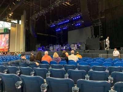 Coastal Credit Union Music Park at Walnut Creek, section: 1, row: Q, seat: 18