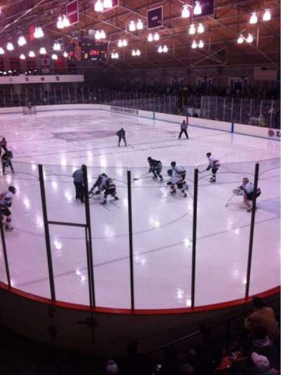 Hobey Baker Memorial Rink, section: 205, row: A, seat: 8