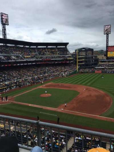PNC Park, section: 208, row: B, seat: 6