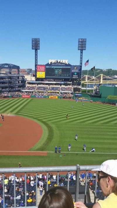 PNC Park, section: 208, row: B, seat: 5
