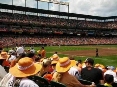 Oriole Park at Camden Yards, section: 14, row: 8, seat: 2