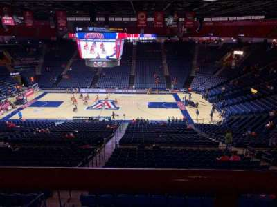 McKale Center, section: UP 115a, row: 33, seat: 21