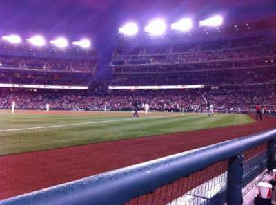 Nationals Park, section: 111, row: A, seat: 12
