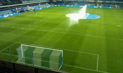 Loftus Road, section: School Upper Visitors, row: M, seat: 110