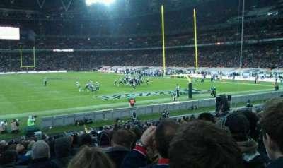 Wembley Stadium section 135