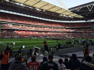 Wembley Stadium section 128