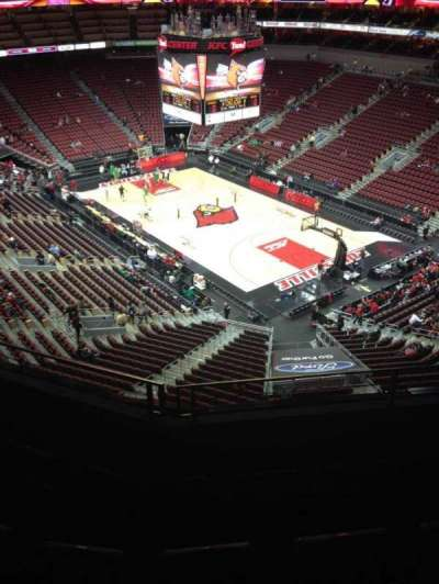 KFC Yum! Center, section: 319, row: D, seat: 6