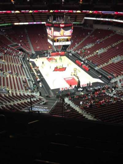 KFC Yum! Center, section: 317, row: F, seat: 2