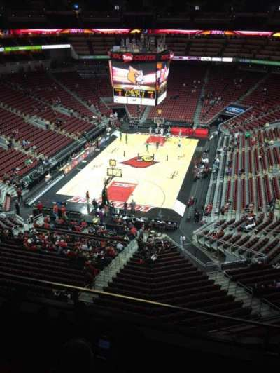 KFC Yum! Center, section: 314, row: C, seat: 9