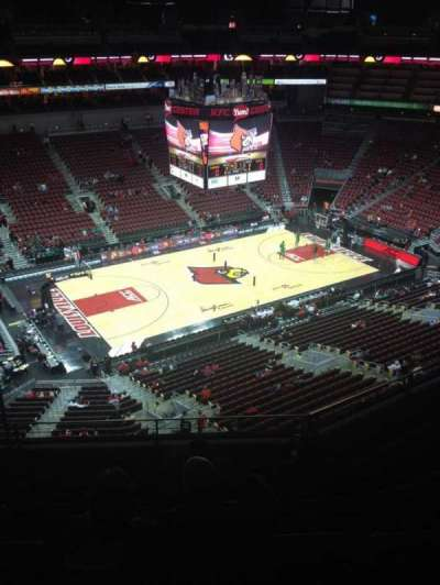 KFC Yum! Center, section: 310, row: F, seat: 12