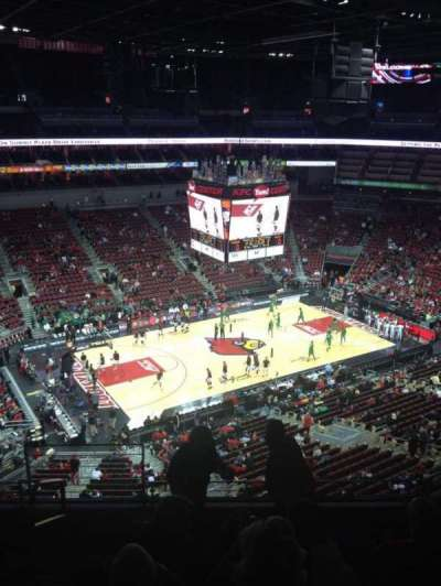 KFC Yum! Center, section: 310, row: F, seat: 14