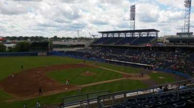Harbor Park, section: 311, row: O, seat: 11