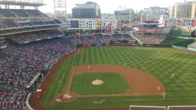 Nationals Park, section: 417, row: C, seat: 1