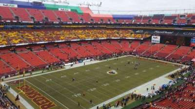 FedEx Field, section: 434, row: 1, seat: 6