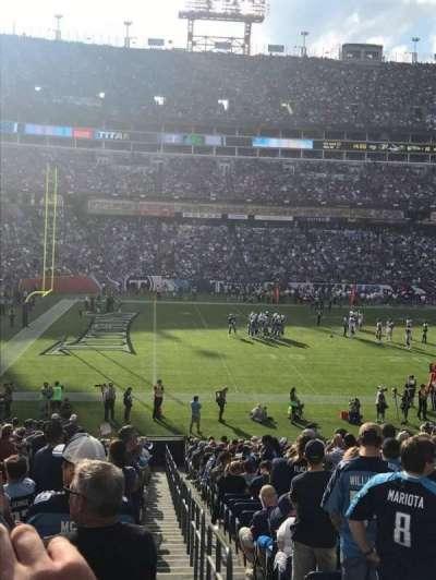 Nissan Stadium, section: 116, row: GG, seat: 1