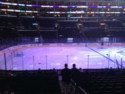 Staples Center, section: 103, row: 17, seat: 1