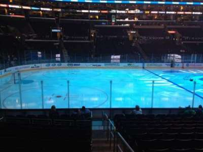 Staples Center, section: 103, row: 14, seat: 1