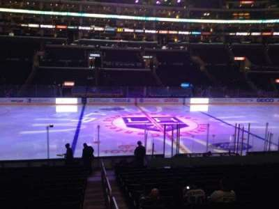 Staples Center, section: 112, row: 17, seat: 1