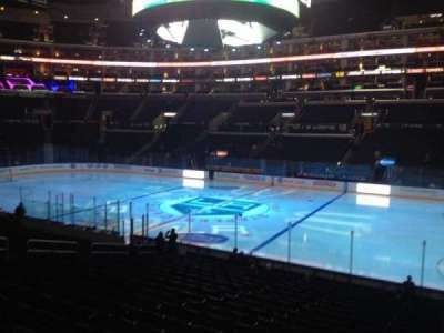 Staples Center, section: 110, row: 20, seat: 1