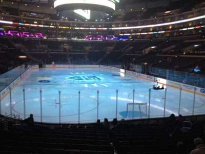 Staples Center, section: 107, row: 16, seat: 14