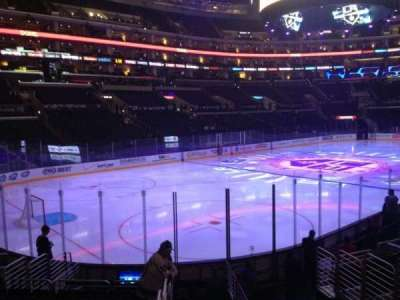 Staples Center, section: 105, row: 15, seat: 1