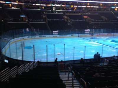 Staples Center, section: 104, row: 17, seat: 1