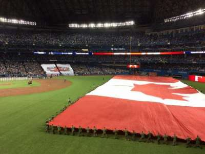 Rogers Centre, section: 209 L, row: 1, seat: 102