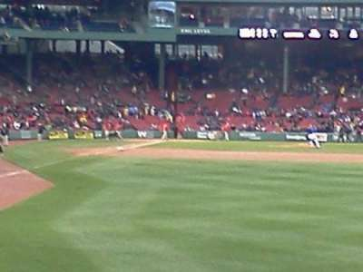 Fenway Park, section: Right Field Box 88, row: jj, seat: 2