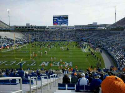Commonwealth Stadium section 121