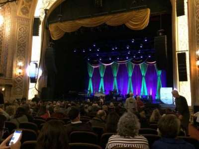 The Paramount Theatre, section: MF2, row: U, seat: 14