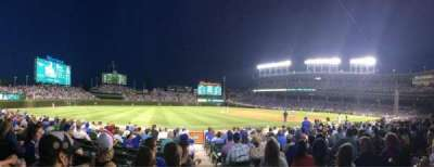 Wrigley Field, section: 8, row: 7, seat: 101