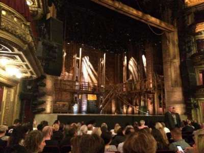 PrivateBank Theatre, section: Orchestra L, row: M, seat: 17