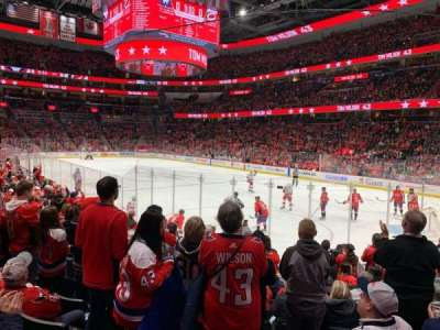 Capital One Arena section 114