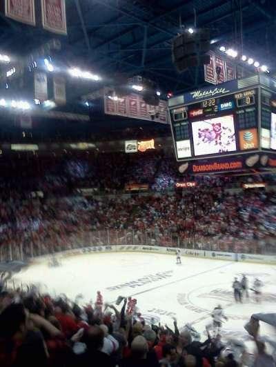 Joe Louis Arena, section: 119, row: 13, seat: 4