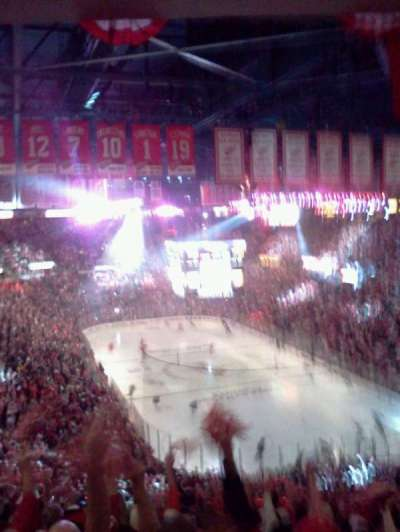 Joe Louis Arena, section: 216a, row: 20, seat: 5