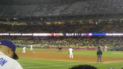 Dodger Stadium, section: 37FD, row: F , seat: 2