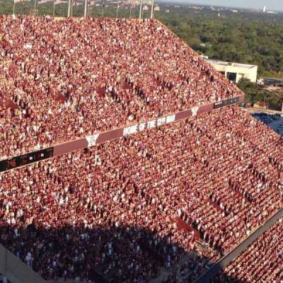 Kyle Field, section: 519, row: 38, seat: 12