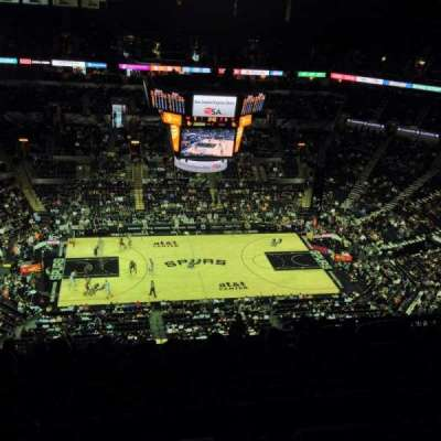 AT&T Center, section: 225, rangée: 19, siège: 3